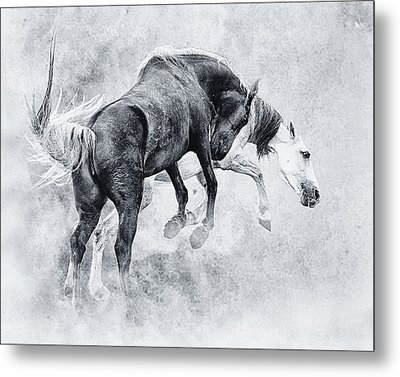 Wild Ones Metal Print by Ron  McGinnis