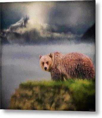 Wildlife Art - The Call Of The Wild Metal Print by Jordan Blackstone