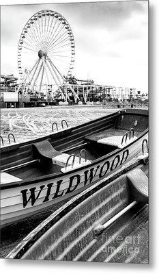 Wildwood Black Metal Print by John Rizzuto
