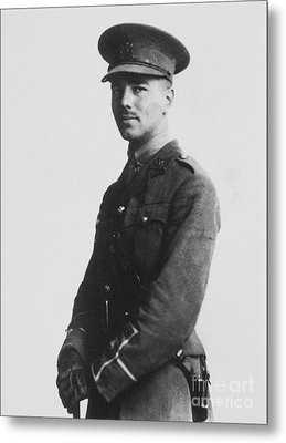 Wilfred Owen (1893-1918) Metal Print by Granger