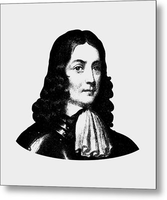 William Penn - Pennsylvania Founder Metal Print by War Is Hell Store