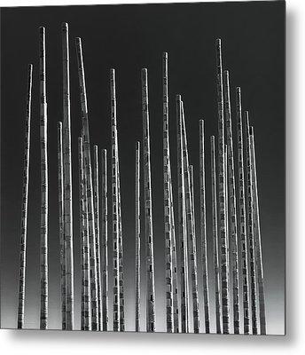 Wind Organ Metal Print by Wim Lanclus