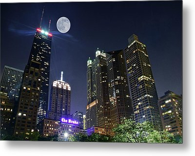 Windy City Metal Print by Frozen in Time Fine Art Photography