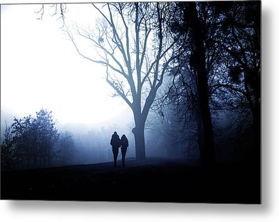 Winter Afternoon II Metal Print by Cambion Art