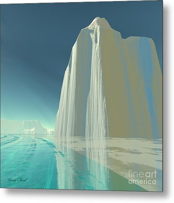 Winter Crystal Metal Print by Corey Ford