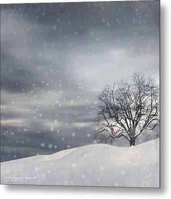 Winter Metal Print by Lourry Legarde