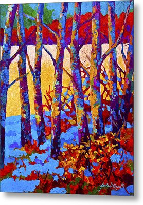 Winter's Promise Metal Print by Marion Rose