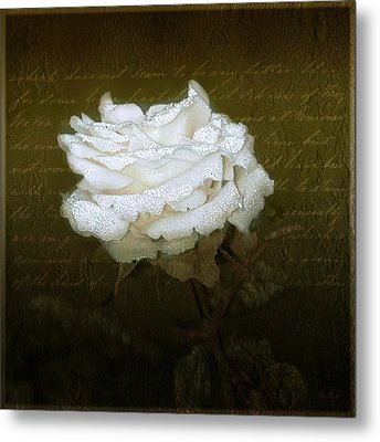 With Love Metal Print by Holly Kempe