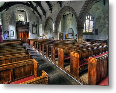 Within Thy House For Ever Metal Print by Ian Mitchell