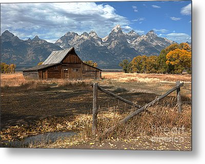 Withstanding The Test Of Time Metal Print by Sandra Bronstein
