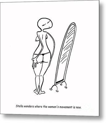 Women's Movement Metal Print by Leanne Wilkes
