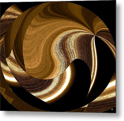 Wood Grains Metal Print by Will Borden