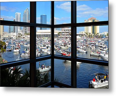 Worlds Biggest Boat Party Metal Print by David Lee Thompson