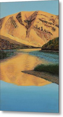 Yakima Canyon Metal Print by Laurie Stewart