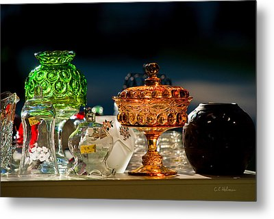 Yard Sale Treasures Metal Print by Christopher Holmes