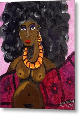 Yemaya Aphrodite Gives Advice. Metal Print by Ifeanyi C Oshun
