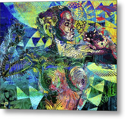 Yemoja Metal Print by LP AEkili Ross