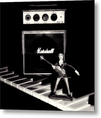 Yesterday - Beatle Paul Metal Print by Bill Cannon