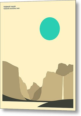 Yosemite National Park Metal Print by Jazzberry Blue