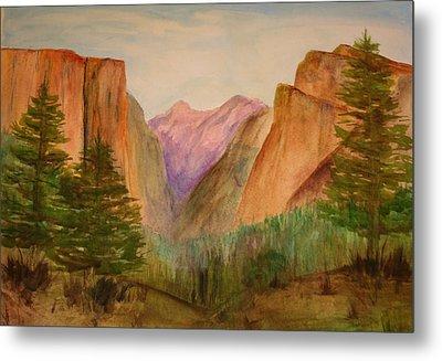 Yosemite Valley Metal Print by Julie Lueders