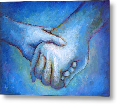 You And Me Metal Print by Angela Treat Lyon