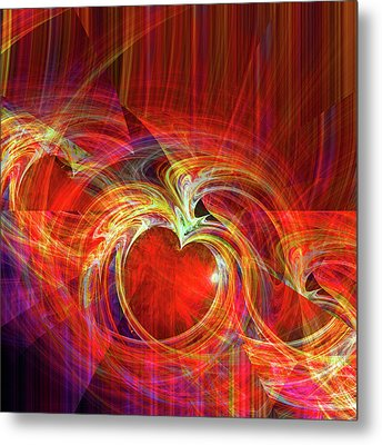 You Make Me Feel Whole Metal Print by Michael Durst