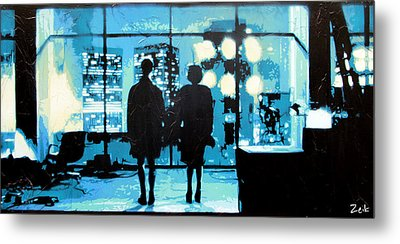 You Met Me At A Very Strange Time In My Life Metal Print by Bobby Zeik