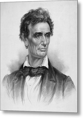 Young Abe Lincoln Metal Print by War Is Hell Store
