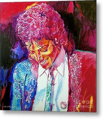 Young Michael Jackson Metal Print by David Lloyd Glover