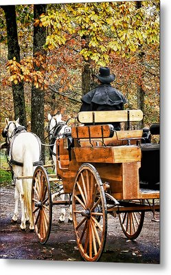 Your Carriage Awaits Metal Print by TnBackroadsPhotos