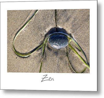 Zen Metal Print by Peter Tellone