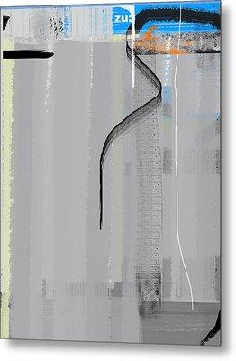 Zero Metal Print by Naxart Studio