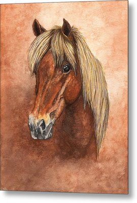 Ziggy Metal Print by Kristen Wesch