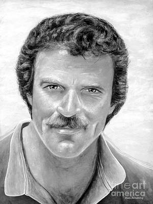 # 1 Tom Selleck Portrait. Poster by Alan Armstrong