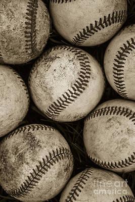 Baseballs Poster by Diane Diederich