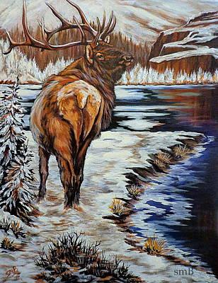 Colorado Winter Poster by Susan Bergstrom