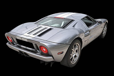 Ford Gt  Poster by Allen Beatty