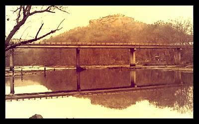 .  Highway 110 Bridge Near Heber Springs Arkansas Poster by Brian Hubmann