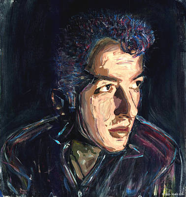 Joe Strummer Poster by Michael Jenks