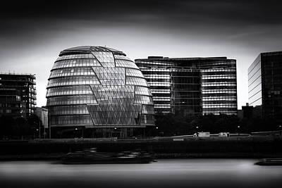 London City Hall  Skyline Poster by Ian Hufton