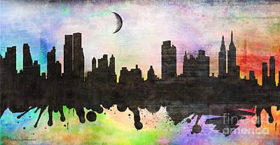 New York 6 Poster by Mark Ashkenazi