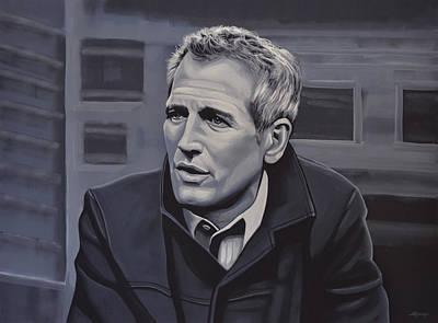 Paul Newman Poster by Paul Meijering