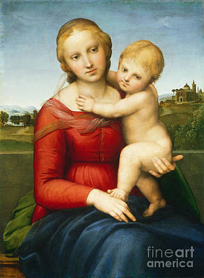 The Small Cowper Madonna Poster by Raphael Raffaello Sanzio of Urbino