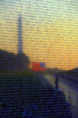 Vietnam Veterans Memorial Poster by Mitch Cat