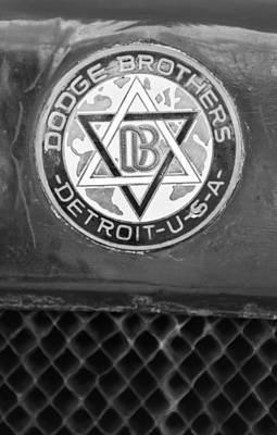 1923 Dodge Brothers Depot Hack Emblem Poster by Jill Reger