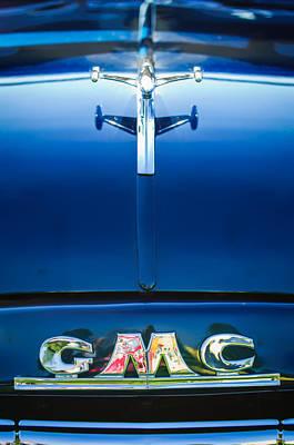 1954 Gmc Pickup Truck Hood Ornament - Emblem Poster by Jill Reger