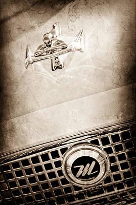 1960 Nash Metropolitan Hood Ornament - Grille Emblem Poster by Jill Reger