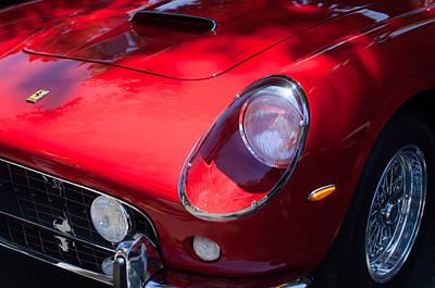 1963 Ferrari 250 Gt Swb Poster by Jill Reger