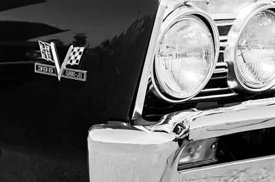 1967 Chevrolet Chevelle Ss Emblem Poster by Jill Reger