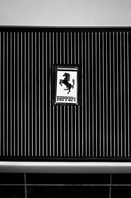 1969 Ferrari 365 Gtb-4 Daytona Emblem Poster by Jill Reger